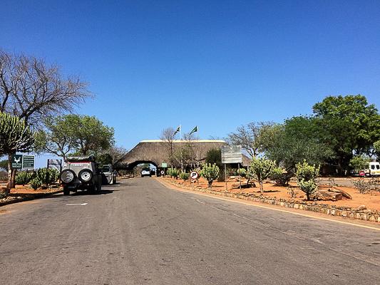 Malelane Gate. Kruger Park, South Africa