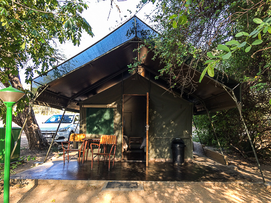Safari Tent. Kruger Park, South Africa.