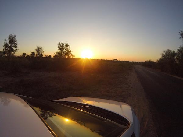Sunset Kruger Park