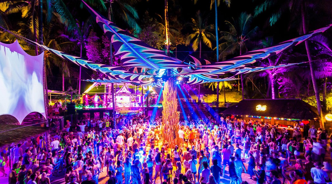 Half Moon Party, Koh Phangan