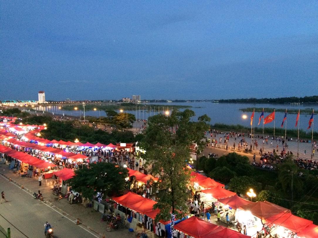 Night Market, Vientiane