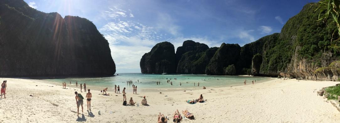 Maya Bay. Krabi, Thailand