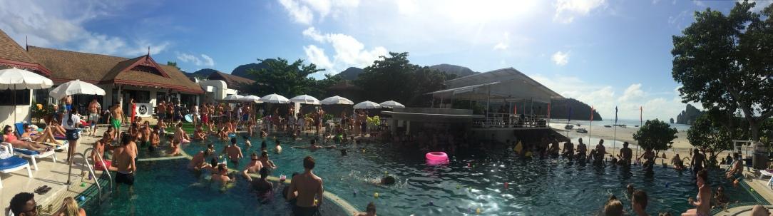 Pool Party, Koh Phi Phi