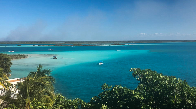 Lagoon of Bacalar